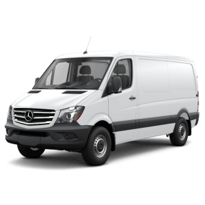 Mercedes Sprinter 144in Wheelbase - Layout Guide