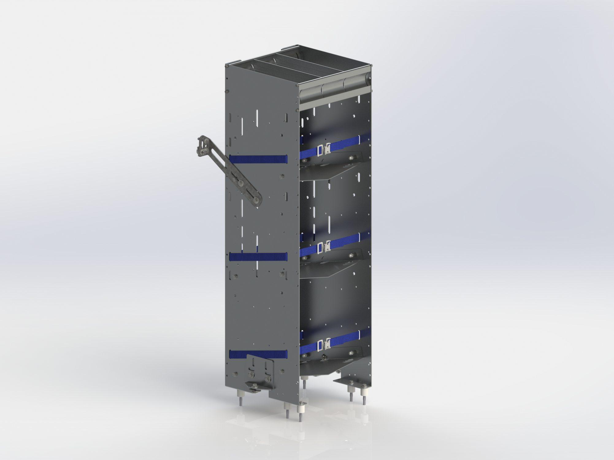 3-Tier Refrigerant Tank Holder