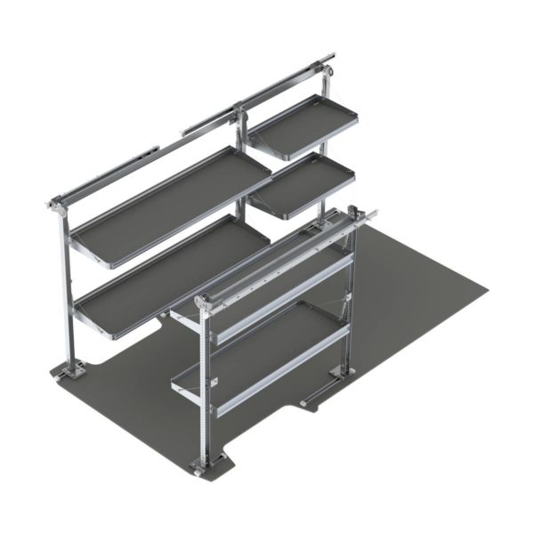 ProMaster Delivery Shelving Package 170 Wheelbase