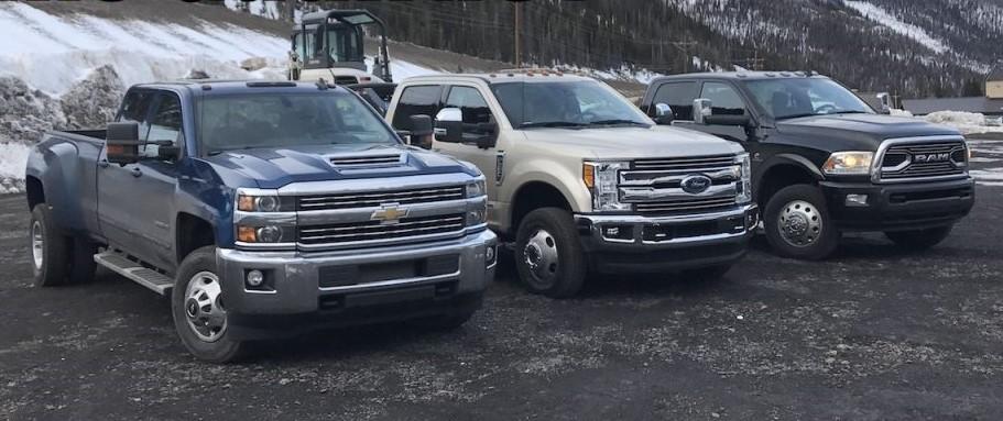 2017 Pickup Trucks