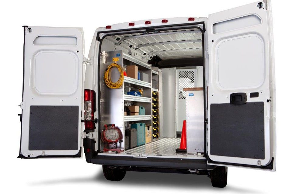 Commercial Van Equipment - Dodge Ram Promaster Contractor Package