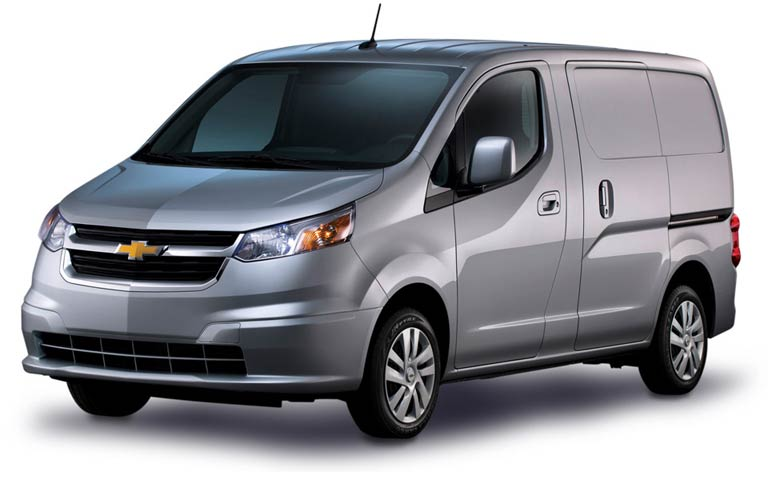 Chevrolet City Express Upfit Options - Commercial Van Equipment Outfitter