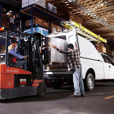 Commercial Truck Caps - Mid Size Maranda