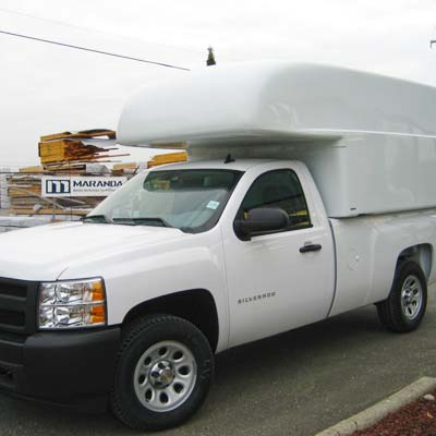 Commercial Truck Caps - Maranda Full Size