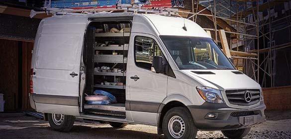 All Commercial Van Equipment Upfit Options