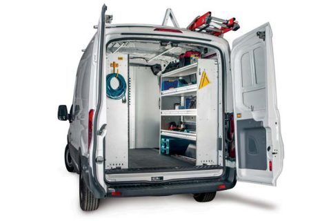 Contractor Van Equipment - Ford Transit