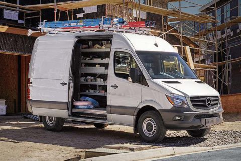 Contractor Van Equipment - Mercedes Sprinter