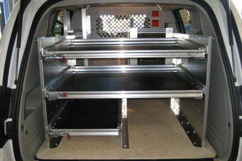 Delivery Van Equipment Upfit - Dodge Cargo