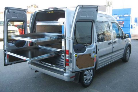Delivery Van Equipment Upfit - Ford Transit Connect