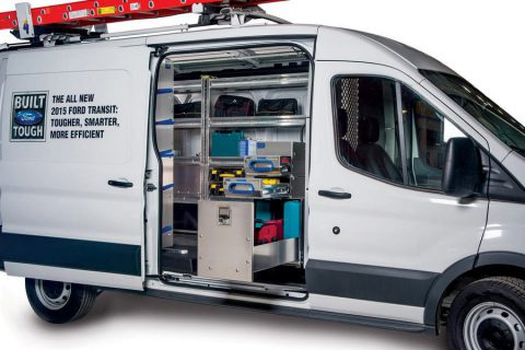Electrician Van Equipment - Ford Transit