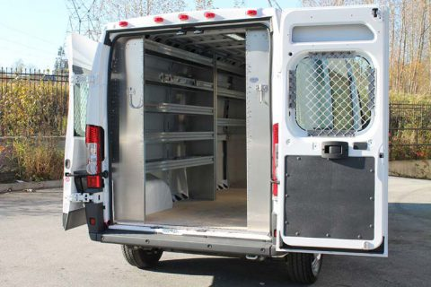 HVAC Van Equipment - RAM ProMaster