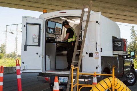 Truck Caps For Fiber Optic Splicing