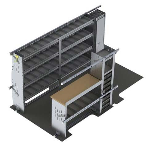 Vehicle Upfit Options By Product - Shelving Packages