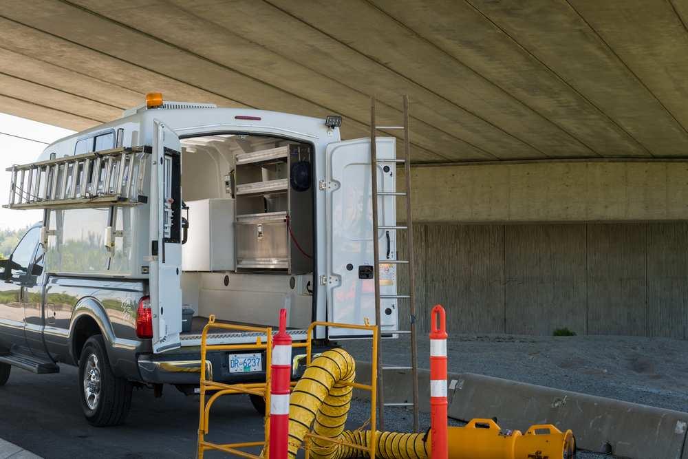 Fiber Optic Splicing Truck Cap