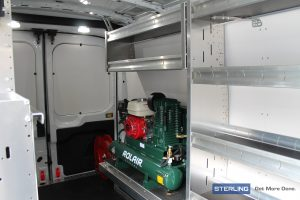 SFO's Fit and finish, clean van with air compressor