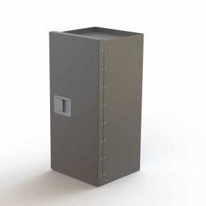 Lockable Refrigerant Rack Cabinet