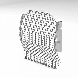 City Express Wire Mesh Partition