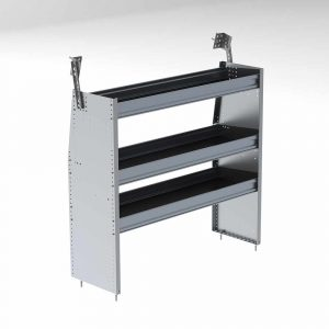 "48""w aluminum shelving unit"