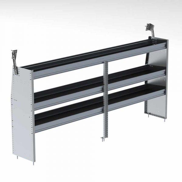 "96""w aluminum shelving unit"