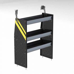 """Steel 36""""w Van Shelving unit for low roof vans"""