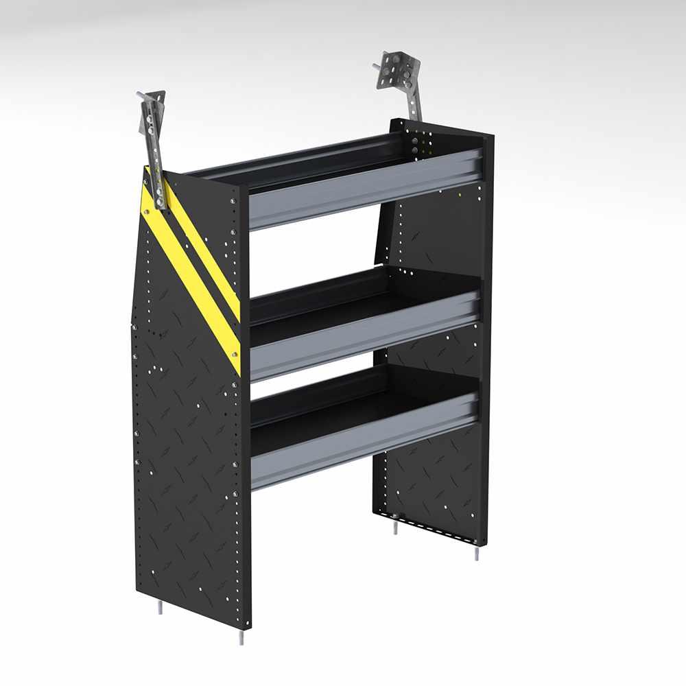 """36"""" wide w/ 3 shelves - N4 Series Steel Cargo Van Shelving ..."""