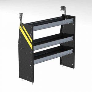 """Steel 48""""w Van Shelving Unit for low roof vans"""