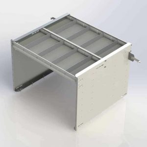 """30"""" Axess Tray with 1 Shelf & No Drawers"""