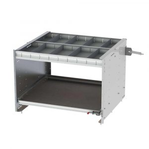 """30"""" Axess Tray with 1 Shelf & 1 Drawer"""