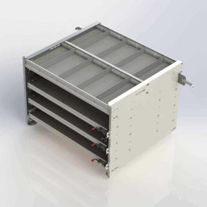 """30"""" Axess Tray with 1 Shelf & 3 Drawers"""