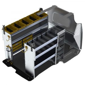 Ford Transit Connect HVAC package