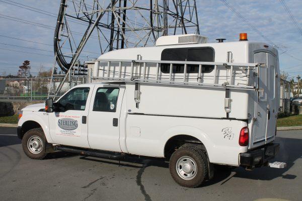 SFO Standard Fiber Optic Splicing Truck Capsule