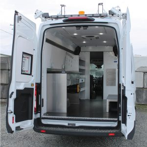 Fiber Optic Splicing Van