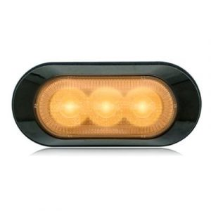 Amber Warning & Emergency 3 LED Light