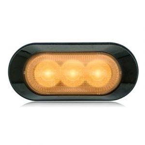Amber Warning & Emergency 3 LED Light