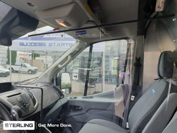 Driver Passenger Separation Guard