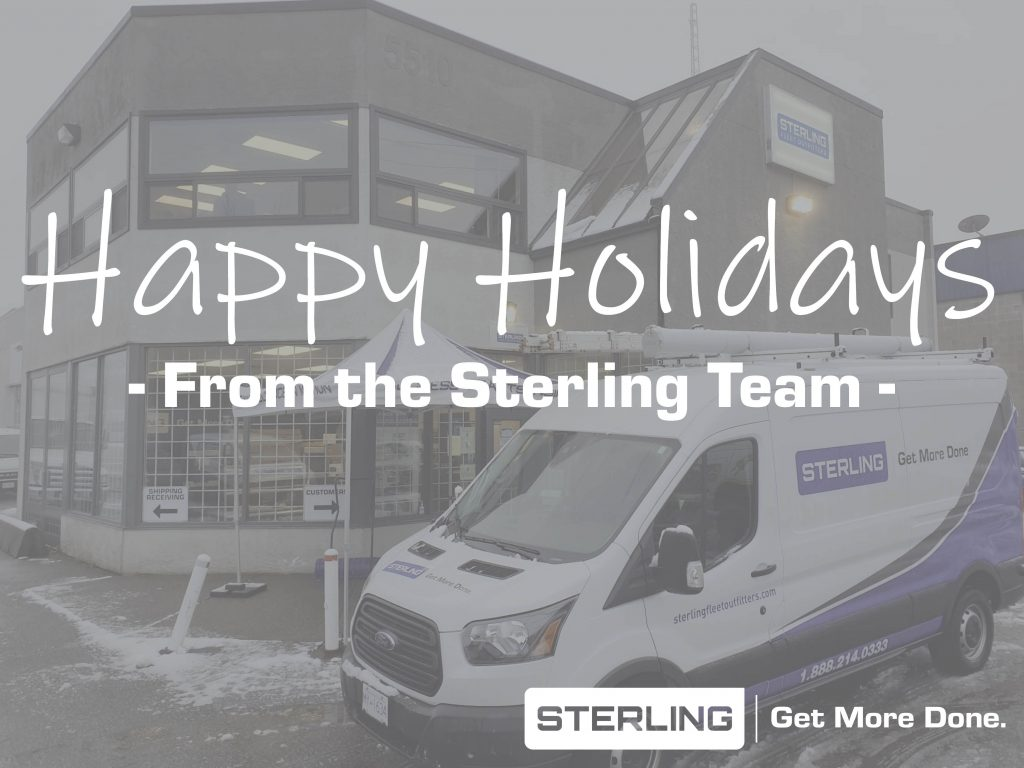 Happy Holidays from the Sterling Team