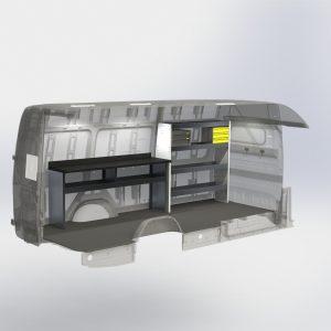 Ram ProMaster Fiber Optic Splicing Van Package