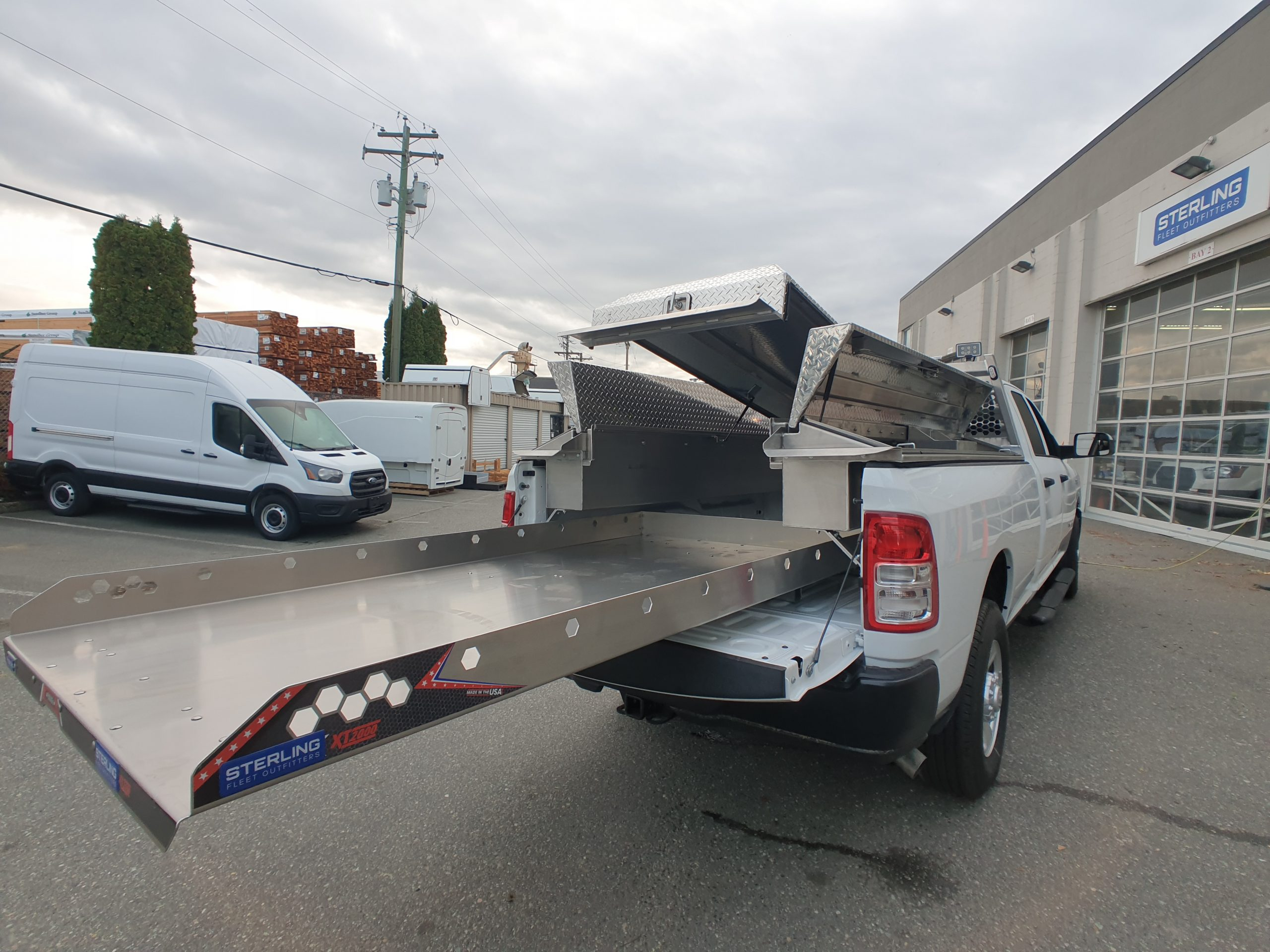 Construction Pickup Package