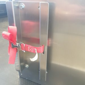 """1 x Strap, w/Spring Buckle, 1"""" x 36"""", Red, Endless"""