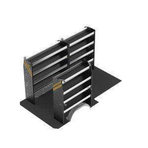 """Sprinter Low Roof 144"""" Standard Steel Van Package"""